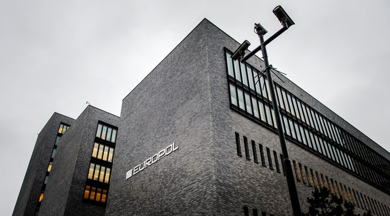 Het kantoor van Europol in Den Haag. Beeld ANP