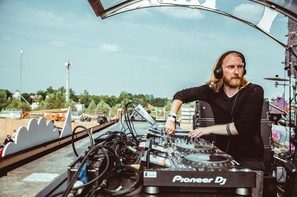 Archiefbeeld: DJ Golfdfox op Tomorrowland.