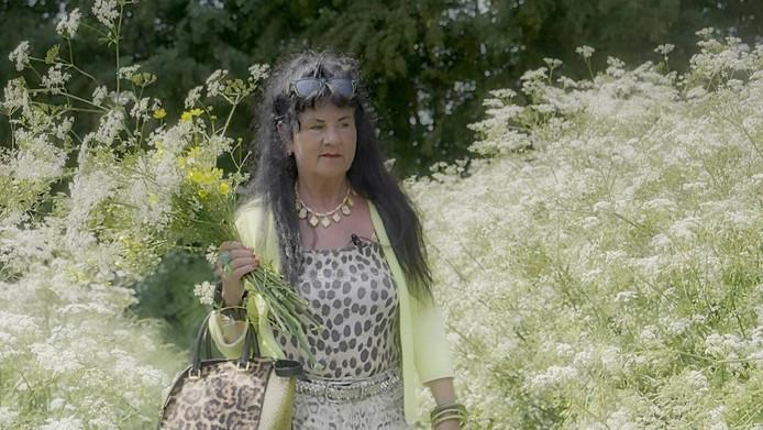 Ineke Otte in de film 'Ladybug'.