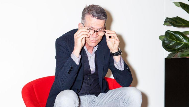 Hans Nijenhuis `Wie met de gemiddelde Nederlander wil communiceren, moet dat via het AD doen.' Beeld Marie Wanders