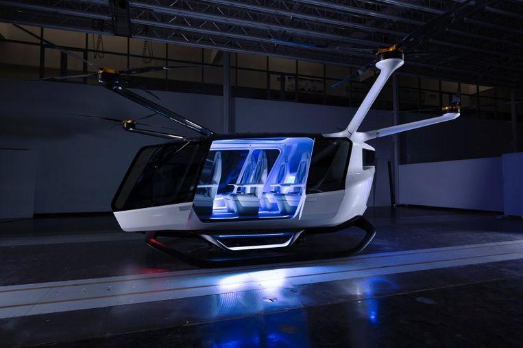 BMW denkt dat waterstof de toekomst heeft voor de vliegende taxi.
