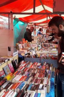 Gezellige drukte op Wageningse boekenmarkt