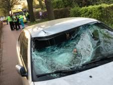 Automobilist veroorzaakt ernstige aanrijding met fietser en wordt agressief - politie slaat man in de boeien