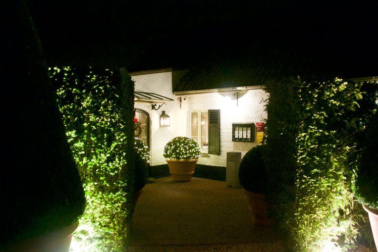 Het sterrenrestaurant van chef Peter Goossens.