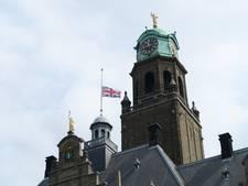 Rotterdam hijst Britse vlag halfstok voor Manchester