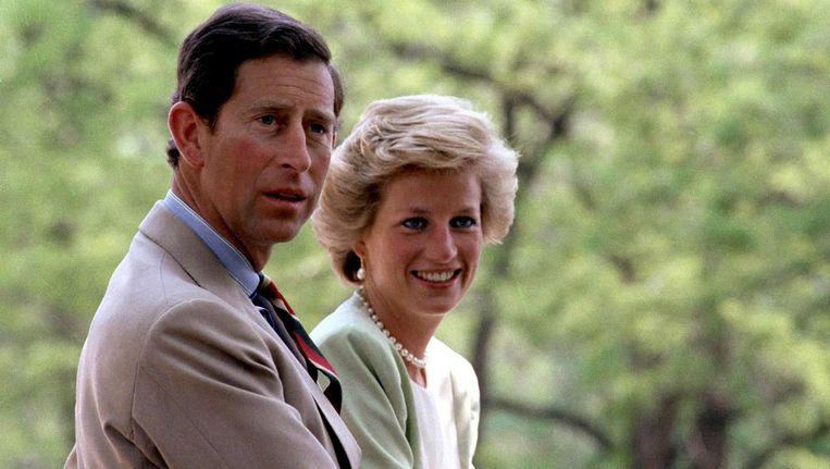 Prinses Diana en prins Charles Beeld epa