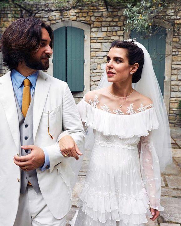 Charlotte Casiraghi huwelijk