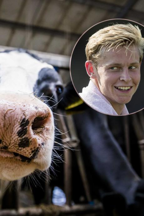 'Tegenbod' van 75 koeien op Arkelnaar Frenkie de Jong