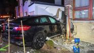 BMW boort zich in huisgevel in Tongeren, bestuurder naar het ziekenhuis