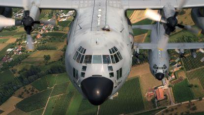 Belgische C-130 vertrokken: 65 militairen voor een jaar naar Mali