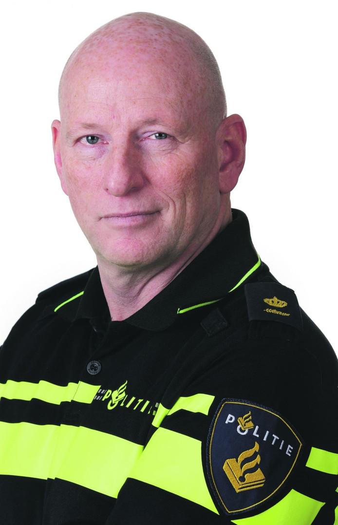Plaatsvervangend districtschef Peter Havelaar.