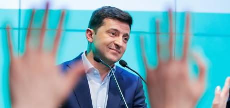 Exitpoll: Zelensky wint ruim parlementsverkiezingen in Oekraïne