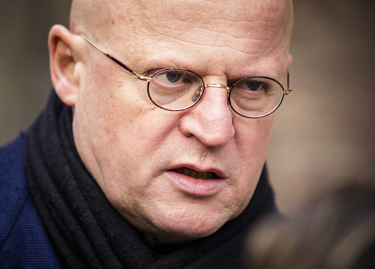 Minister Ferdinand Grapperhaus van Justitie en Veiligheid (CDA)