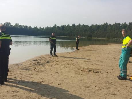 Zwemmer overleden bij waterplas De Hoort in Budel-Dorplein