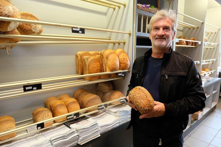 Jacques Pörtner sluit met pijn in het hart zijn bakkerij in de Magdalenasteenweg.