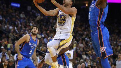 Kampioen Golden State zet NBA-seizoen in met thuiszege