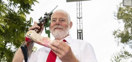 Gerrit Hulsbeek nieuwe schutterskoning in Glanerbrug