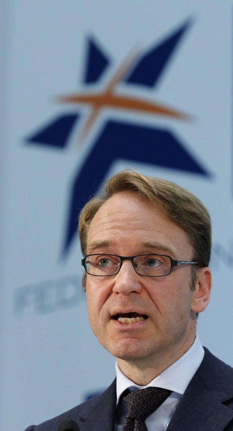 Jens Weidmann, president van de Duitse Bundesbank.