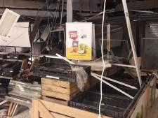 Biljetten in geldautomaat verbrand, plofkrakers Wijk weg zonder buit