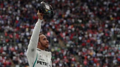 Vloekende Hamilton grijpt in Mexico vijfde titel, dominante Verstappen knalt naar zege - Vandoorne met 8ste plek nog eens in de punten