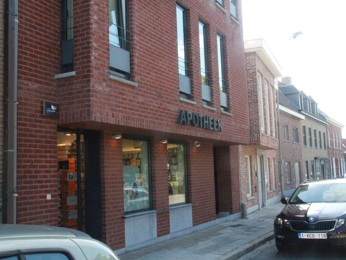 De apotheek die in augustus werd overvallen op Rollegemplaats
