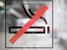 Een algemeen rookverbod zit er in Breda nog niet in