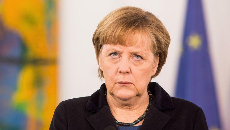 Angela Merkel. Beeld getty