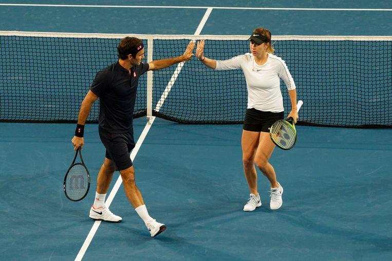 Roger Federer en Belinda Bencic wonnen de afgelopen twee edities van de Hopman Cup.