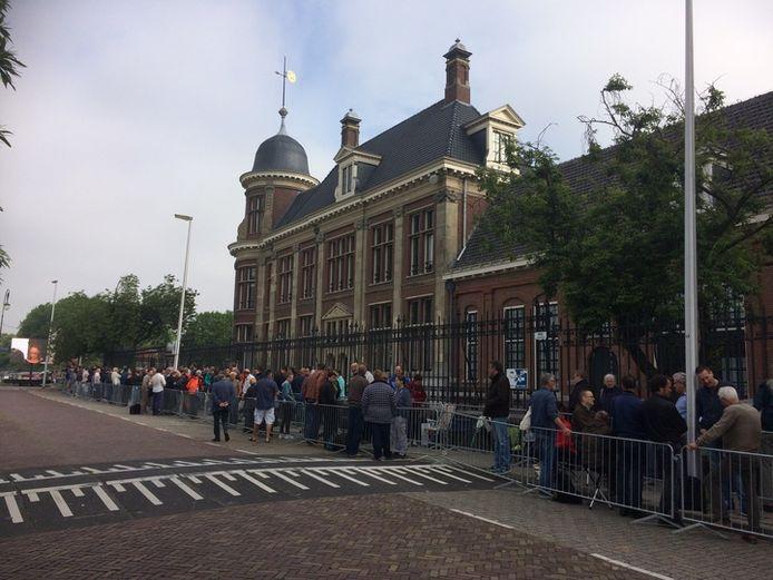 Het gebouw van De Munt aan de Leidseweg in Utrecht.