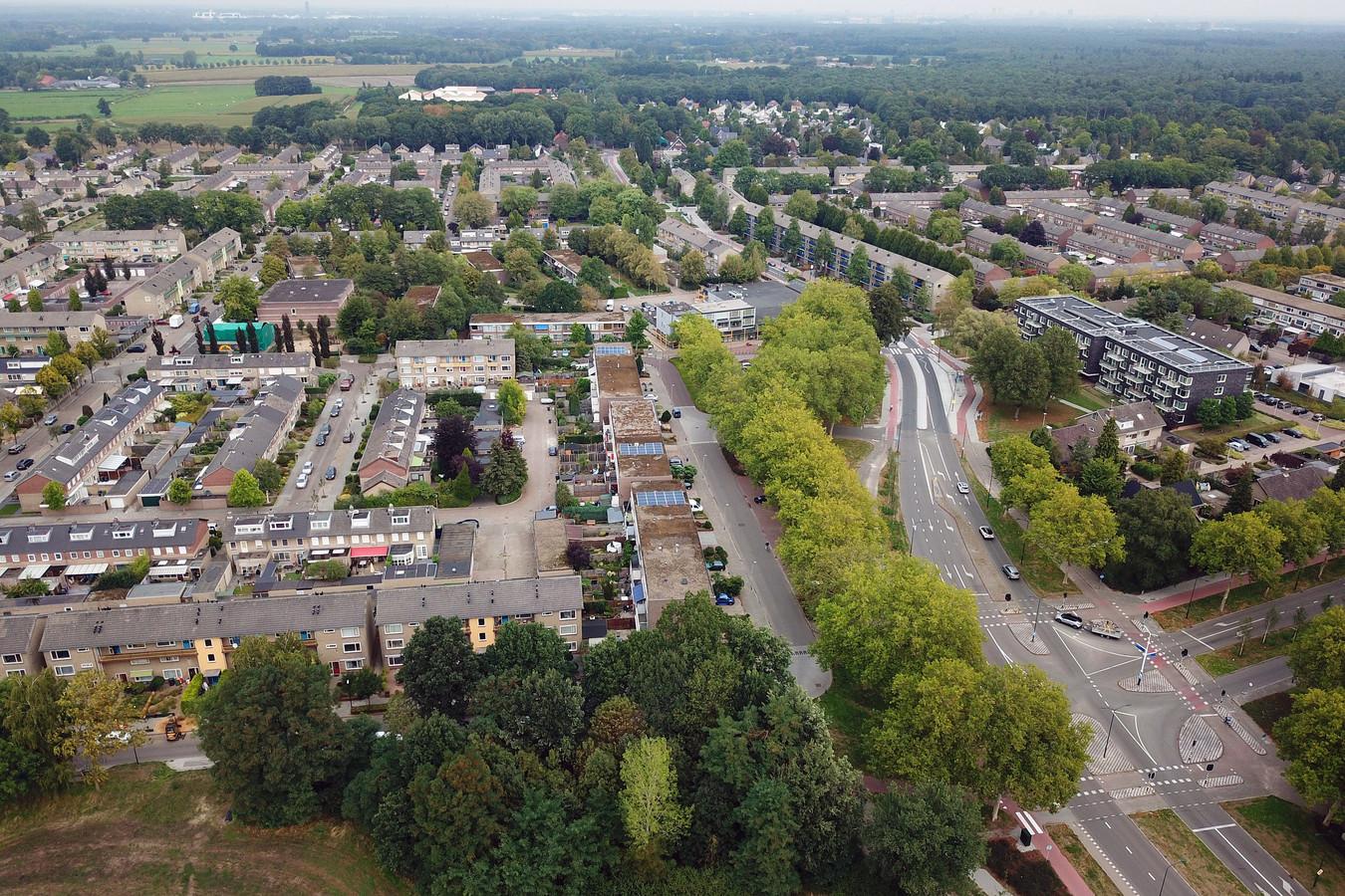 Woningbelang is de grootste sociale verhuurder in Valkenswaard, onder meer in de wijk Het Gegraaf.