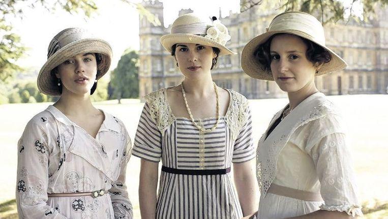 De dochters van Lord Crawley in de tv-serie 'Downton Abbey' zijn maar al te bekend met de complexiteit van de erfopvolging. Beeld