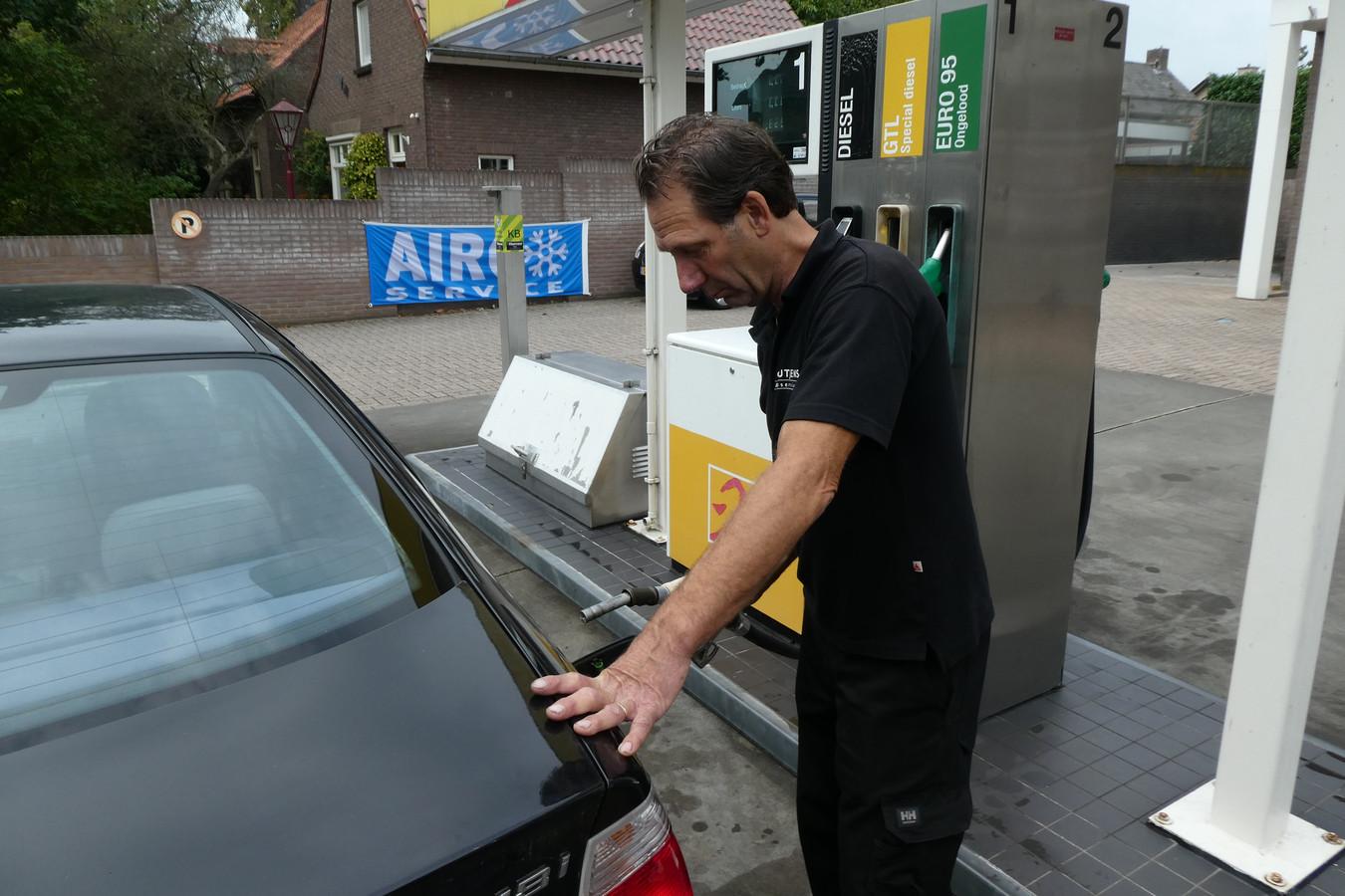 Bij Schutjens kun je GTL tanken, dat is witte diesel die ook vriendelijker is voor het milieu.