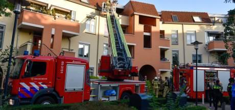 Appartement in Almelo onbewoonbaar door brand