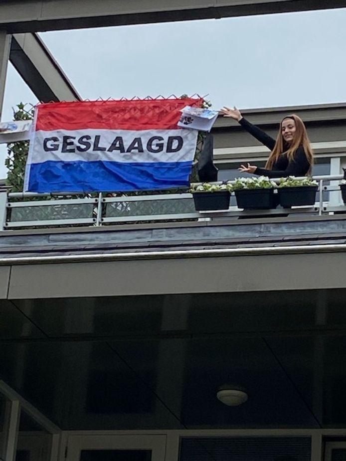 Quinty Maassen (16) uit Apeldoorn ging naar de Heemgaard en gaat nu naar het ROC Aventus voor een opleiding toerisme.