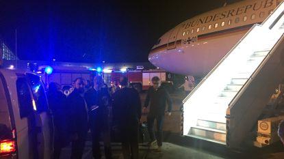 Vliegtuig Merkel op weg naar G20-top teruggekeerd wegens technisch defect