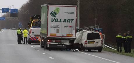 Man (49) uit Nijkerk komt om het leven bij ongeval op A30