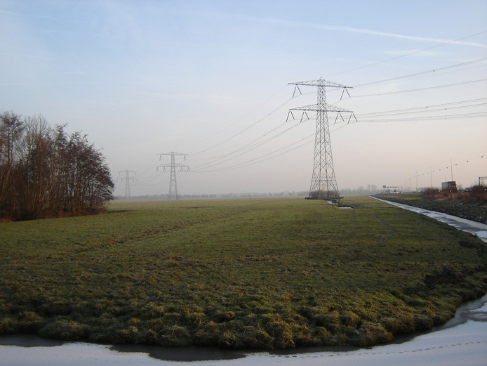Voortuin II langs de A12 in Woerden is een plek waar mogelijk een bedrijventerrein komt. Een nieuwe randweg zou ook dit gebied aandoen.