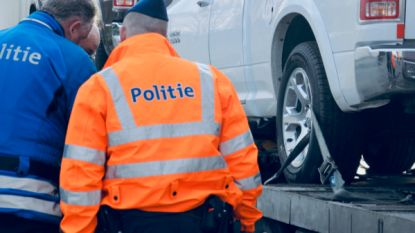 Politieactie aan carpoolparking levert net geen 25.000 euro op