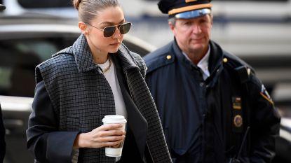 Gigi Hadid toch geen jurylid in zaak Weinstein