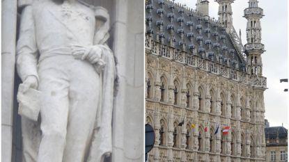 """Leuven verwijdert beeld van Leopold II van stadhuis: """"Verbondenheid en respect tonen voor elkaars gevoeligheden"""""""