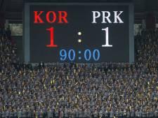 Koreaanse voetbaloorlog symbool van goede wil