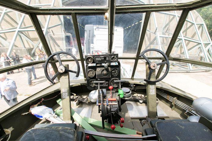 Cockpit van de replica van de Horsa, die in september 2019 in Oosterbeek komt te staan tijdens de herdenking van de Slag om Arnhem.