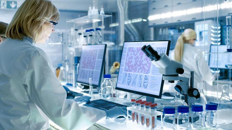 Vrouwelijke wetenschappers aan het werk. Foto ter illustratie.