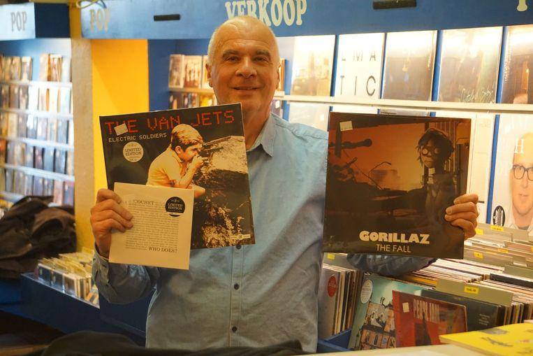 Yves Deckmyn van Compact Center neemt opnieuw deel aan Record Store Day.