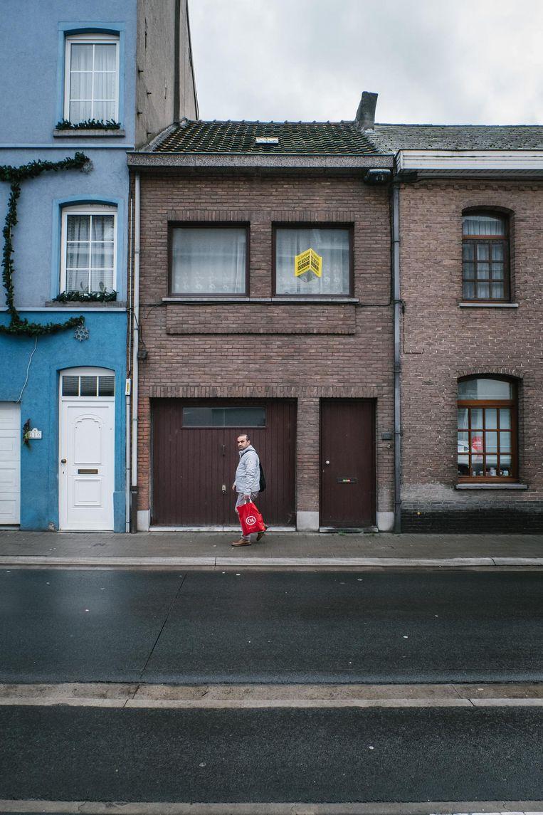 Het huis van de Reus langs de Moorselbaan staat te koop voor 169.000 euro.