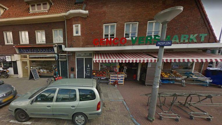 Bakkerij Kaandorp en Genco Versmarkt moesten noodgedwongen sluiten vanwege de opgebroken straat. Beeld Google Streetview