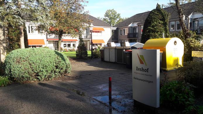 De aanleunwoningen bij het woon-zorgcentrum Eeshof in Tubbergen.