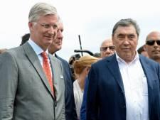 """Le roi Philippe encense le roi Eddy Merckx dans une lettre: """"Vous êtes un héros"""""""