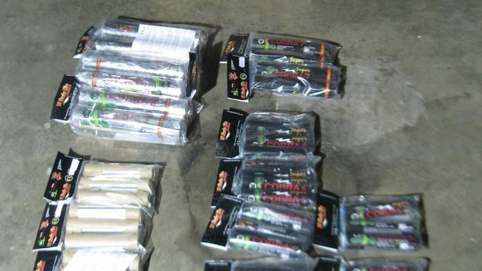 Zwaar illegaal vuurwerk