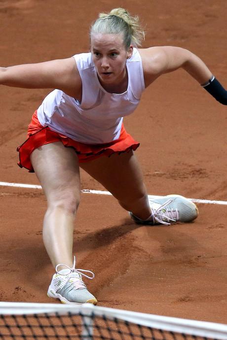 Oranje op achterstand in Fed Cup